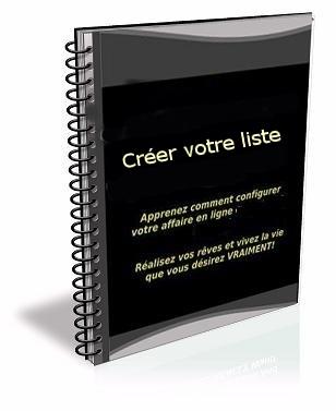 créer votre liste